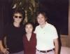 John Lennon, Yoko Ono & Bert Keane