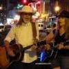 Singing on Broadway in Nashville