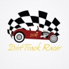 Official Dirt Track Racer Logo