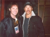 Randy with Bruce Springsteen at The Alliance Of Neighbors Concert , a Benefit for 9-11