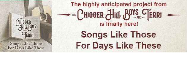 CHIGGER HILL BOYS & TERRI This might be the best Bluegrass Gospel album ever made