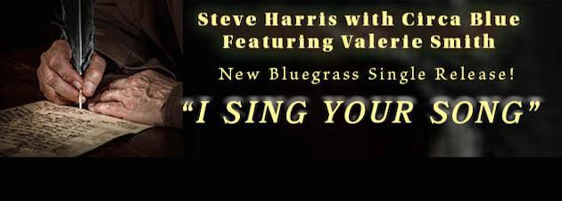 Steve Harris & VALERIE SMITH|A heartfelt bluegrass duet tdhat features lyrics of hope.