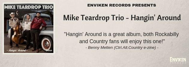 MIKE TEARDROP TRIO|Slap bass thumpin, countryfied Rockabilly