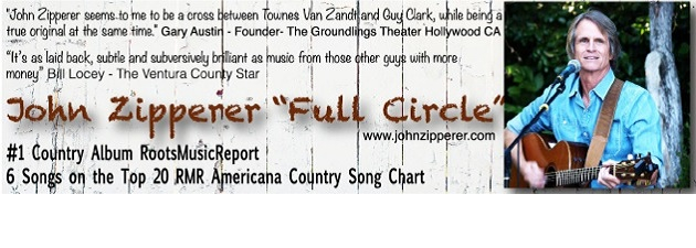 JOHN ZIPPERER|9 months on Roots Music Report Americana Country Chart