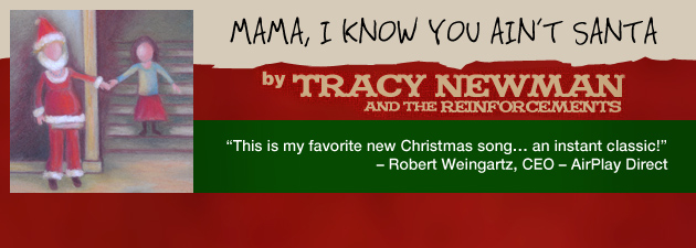 TRACY NEWMAN|A young girl sings to her mama on Christmas