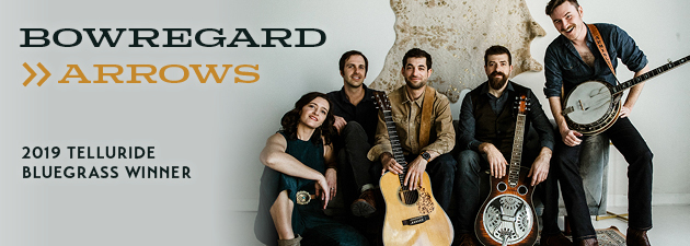 BOWREGARD|Fiery new bluegrass from award-winning Colorado band.