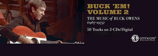 BUCK OWENS|Buck 'Em! Vol. 2  takes the country icon's music to the next stage