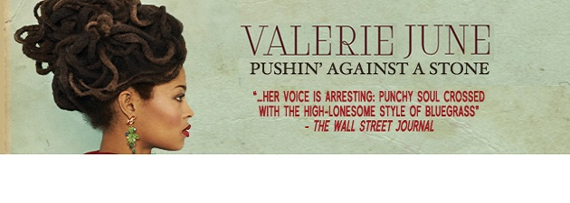 "VALERIE JUNE|""This year's big new voice"" London Sunday Times"