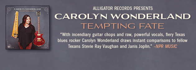 CAROLYN WONDERLAND|Extraordinary guitar, powerful original songs & passionate vocals