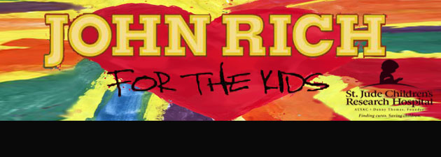 John Rich | Country superstar delivers new EP to benefit the St. Jude Children's Research Hospital