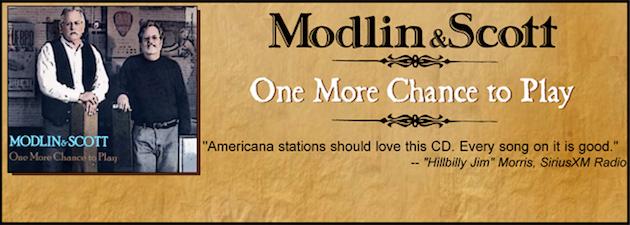 MODLIN & SCOTT|New Americana release from legendary 700 West Records