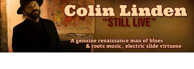 COLIN LINDEN|Award winning guitarist, songwriter and producer