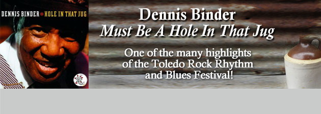 DENNIS BINDER|50's rhythm & blues with spellbinding vocals & killer keyboards