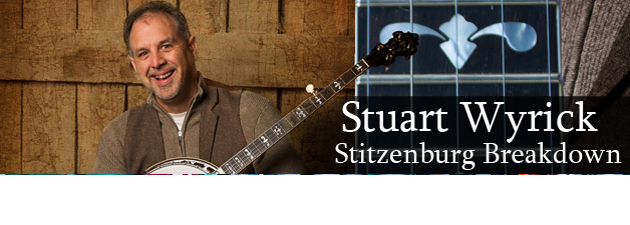 STUART WYRICK|Bluegrass Barn Burner From Veteran Banjoman And All-Star Musicians