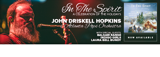 JOHN DRISKELL HOPKINS|Baritone singer of Zac Brown Band with orchestra & special guests