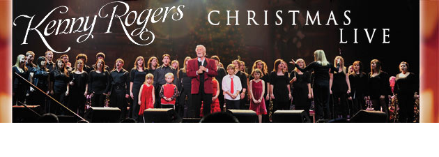 KENNY ROGERS|Country Music Icons first LIVE Christmas album