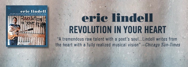 ERIC LINDELL|A soul-drenched blend of roots rock, R&B, blues and honky tonk.