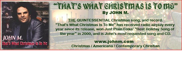 "JOHN M|""The annual favorite. A true Christmas ""standard!"""