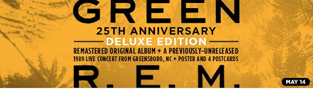 R.E.M.|25th Anniversary Edition w/ Live Concert from 1989