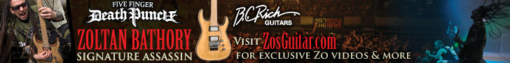 BC Rich Zoltan Bathory signature series, BC Rich Five Finger Death Punch Zoltan Bathony Assassin