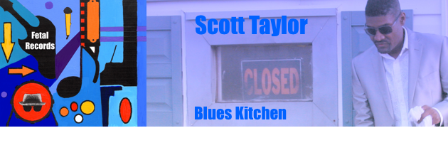 SCOTT TAYLOR|Rendering the Blues and R&B genre.