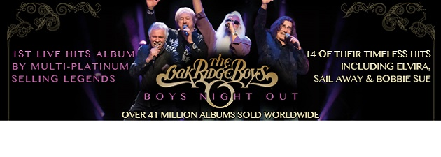 "OAK RIDGE BOYS| ""Going for Adds April 8th"""