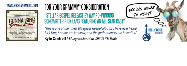 RICK LANG|Grammy Nominated Gospel Release from Rick Lang