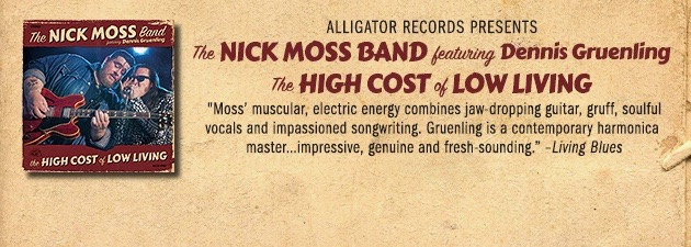 THE NICK MOSS BAND|Tough, gritty Chicago blues and raw raucous rock 'n' roll
