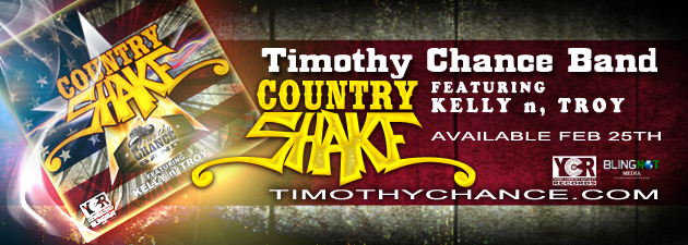 "TIMOTHY CHANCE BAND|""Thank You Radio!"" from the TCB! #COUNTRYSHAKE #AYO"