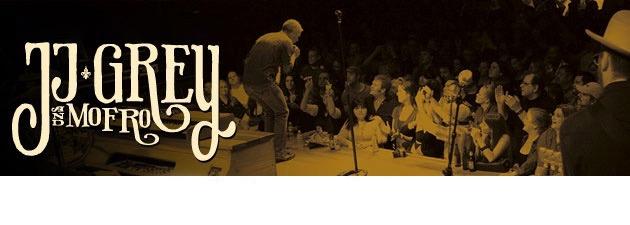 JJ GREY & MOFRO| Brighter Days, Grey's first Rock & Roll / Soul live DVD / CD