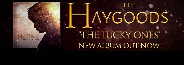 "THE HAYGOODS|""An incredible new album from a young family band!"""