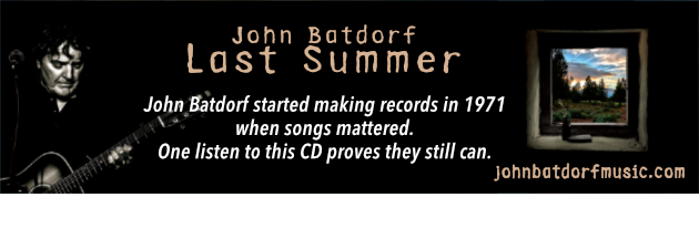 JOHN BATDORF|What makes these songs feel like old friends? One listen and you'll know.