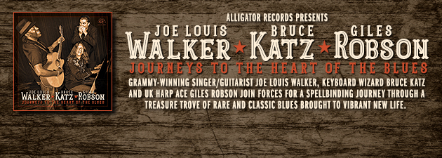 WALKER,  KATZ, ROBSON|Mesmerizing, deep acoustic blues from three musical giants