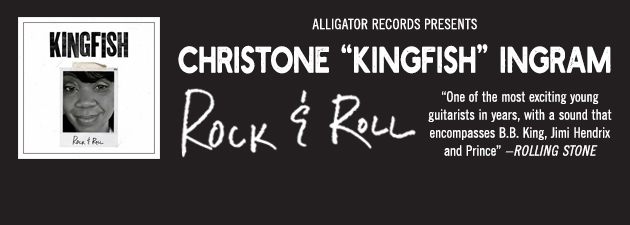"""CHRISTONE """"KINGFISH"""" INGRAM
