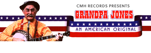 GRANDPA JONES|A celebration of the Hall of Famer & old-time country banjo man!