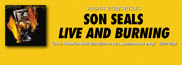 SON SEALS|Seals' sound is all Chicago barroom grit