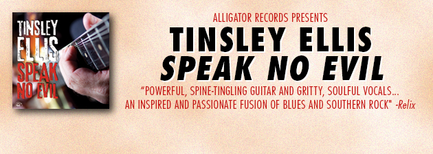 TINSLEY ELLIS|Powerful,heart-stopping Southern-flavored blues rock