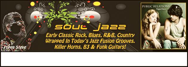 POPPA STEVE|Very cool funky jazz.