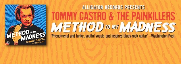 TOMMY CASTRO|Crackling contemporary blues rock - gritty and soulful