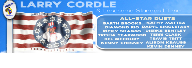 LARRY CORDLE|A landmark new album of ALL STAR DUETS