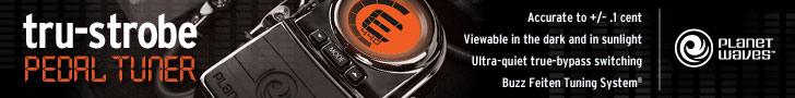 DAddario tru-strobe pedal tuner