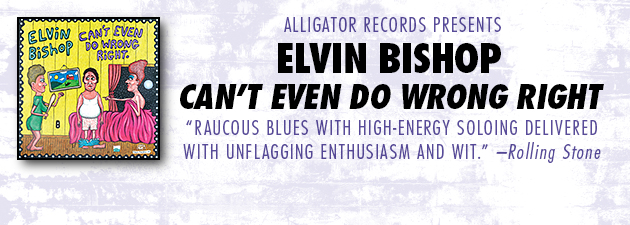 ELVIN BISHOP|The Blues Music Album, Band and Song Of The Year