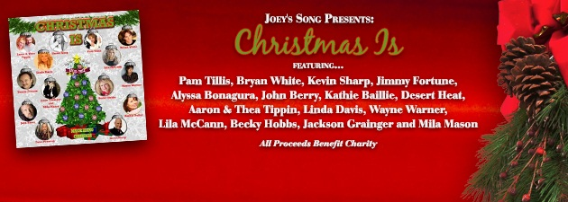 JOEY'S SONG PRESENTS CHRISTMAS IS|Unique songs for your Xmas playlist and Charity