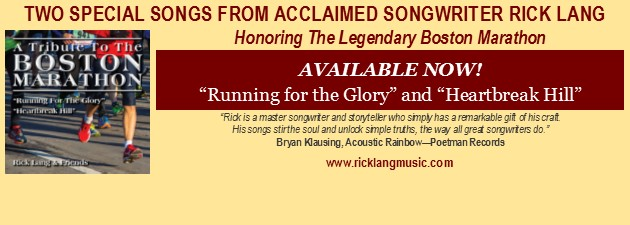 "RICK LANG|""A Celebration Of The Boston Marathon In Song"""