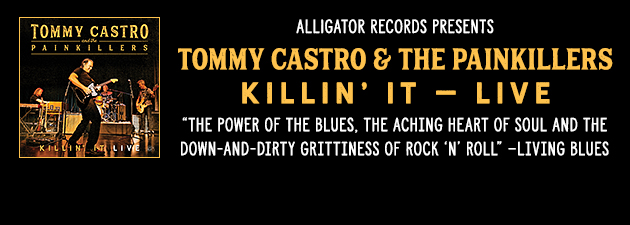 TOMMY CASTRO|Captures their live power. A spirited mix of blues, rock and soul