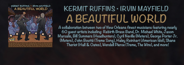 KERMIT RUFFINS & IRVIN MAYFIELD|The centerpiece of Basin Street Records 20th anniversary