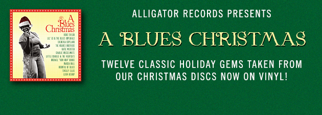 A BLUES CHRISTMAS|12 blues gems of genuine holiday-rocking' music