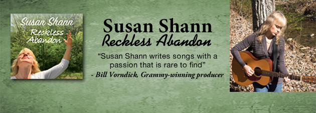 "SUSAN SHANN|""An acoustic panorama of life, love and the sacred connection"""