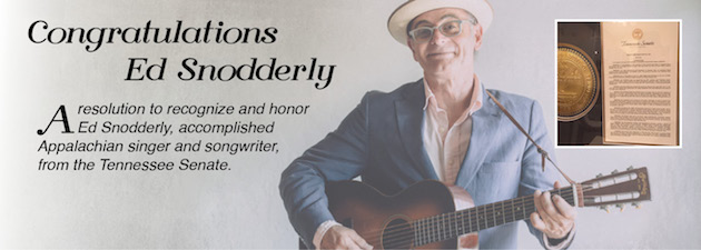 ED SNODDERLY|AirPlay Direct would like to acknowledge the state of Tennessee's honoring of Ed Snodderly