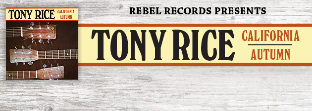 TONY RICE|One of the late, great guitarist's earliest recordings. RIP Tony Rice